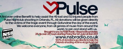 Pulse Orlando Benefit on NSB Radio